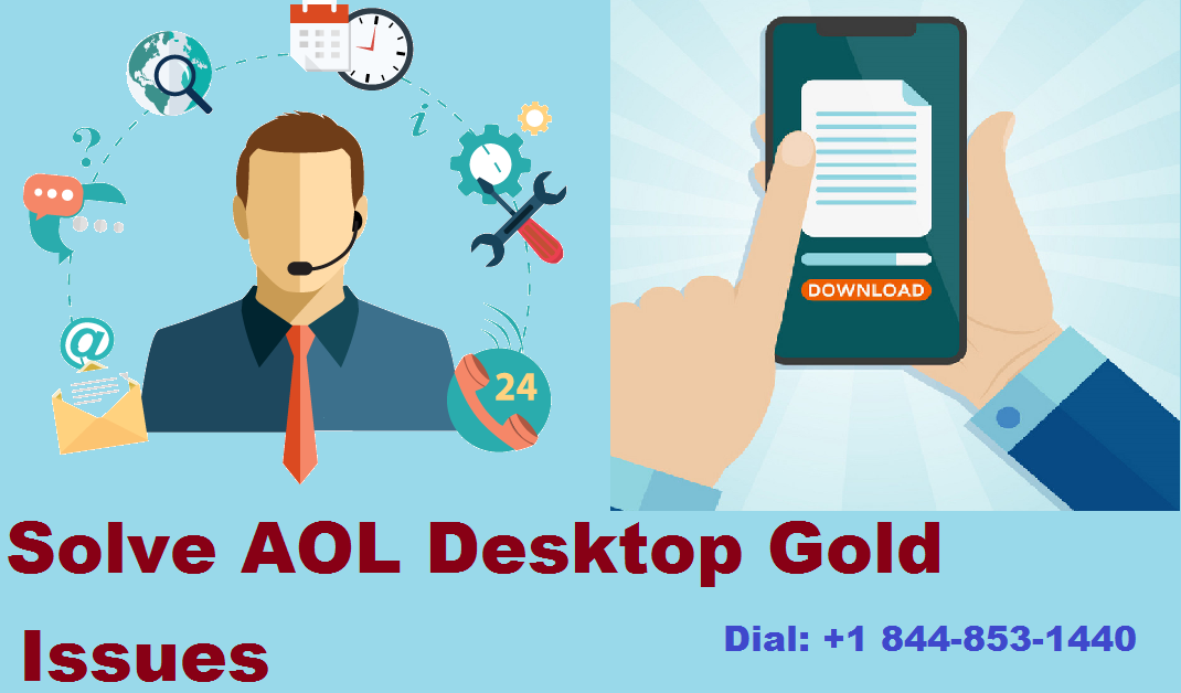 aol desktop gold issues